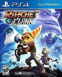 BRAND NEW Sony Playstation PS4 Ratchet & Clank Video Game Adventure Rated E