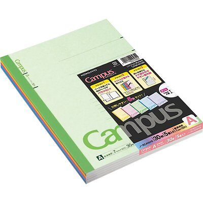NEW Kokuyo Campus Notes Five Books Set B5 A Ruled Line F/S Japan Import