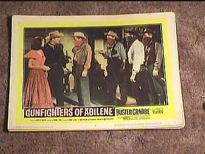 Gunfighters Of Abilene 1959 Lobby Card #3 Western