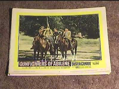 Gunfighters Of Abilene 1959 Lobby Card #4 Western