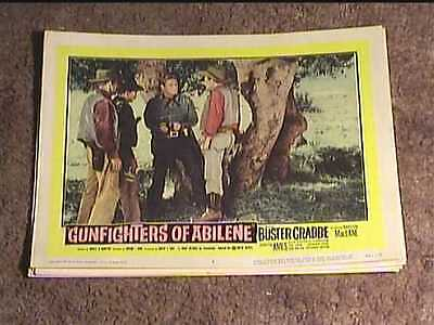 Gunfighters Of Abilene 1959 Lobby Card #5 Western