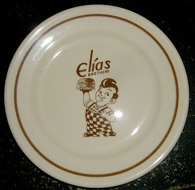 1965 Elias Bros. Big Boy Lunch Plate - Sterling China