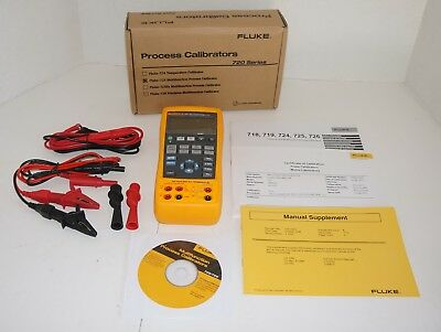 Fluke 725 Multifunction Process Loop Calibrator Mv Ma Volt Mfg 2017 New