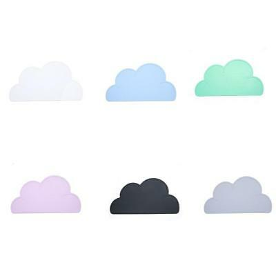 Kitchen Silicone Cloud Shape Insulation Placemat Kids Pads Dining Table Mat B