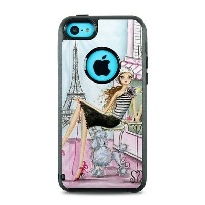 Skin for Otterbox iPhone 5C - Cafe Paris by Bella Pilar - Sticker Decal