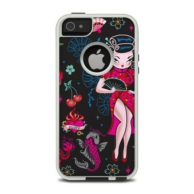 Skin for Otterbox iPhone 5/5S - Geisha Gal by Fluff - Sticker Decal