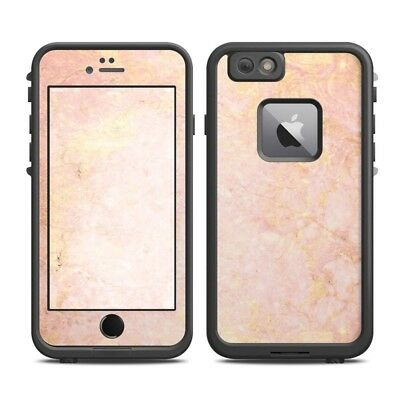 Skin for LifeProof FRE iPhone 6 Plus - Rose Gold Marble - Sticker Decal