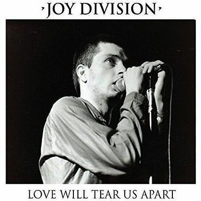 "JOY DIVISION - Love Will Tear Us Apart  (7"" - CLEAR) EP"