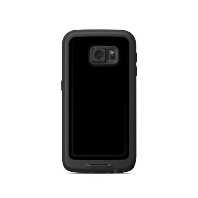 Skin for LifeProof Galaxy S6 FRE Case - Solid State Black - Sticker Decal