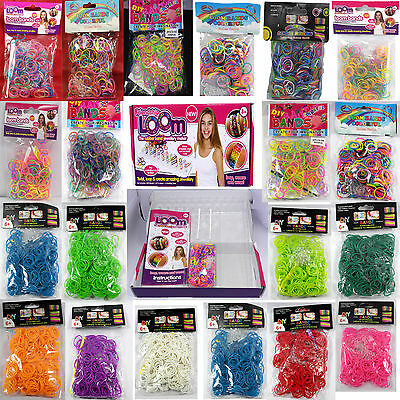 Loom Bands Choose your style and quantities