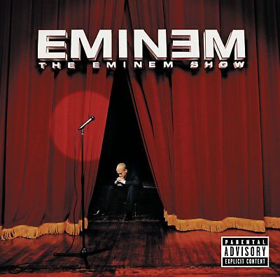 "EMINEM The Eminem Show 12"" Double LP Vinyl Reissue BRAND NEW"