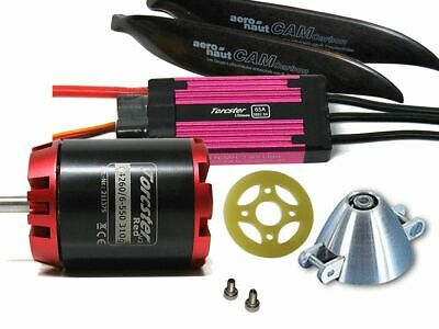 Torcster Antriebsset Excel Competition3 plus Tuning Simprop Brushless NEU&OVP