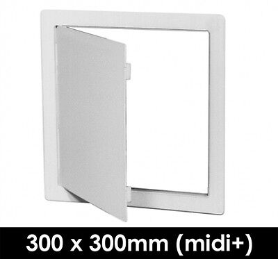 Plastic Access Panel Hinged (Midi+) 300 x 300mm - Midi+ 300 x 300mm Access-Panel
