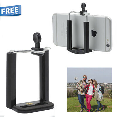Camera Stand Clip Bracket Holder Monopod Tripod Mount Adapter for Cell Phone