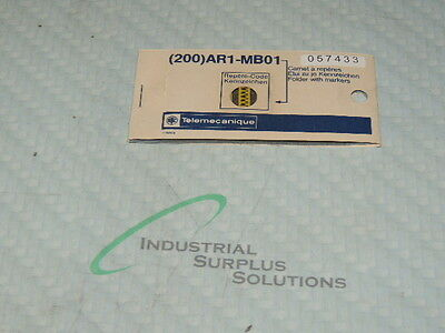 Schneider Ar1-Mb01W / 057433 Cable Ends Card Of 200