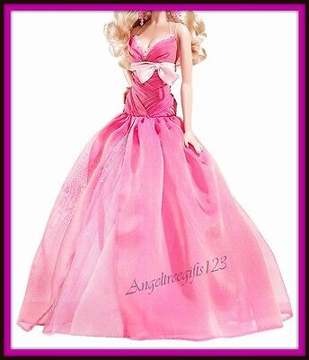 Pink chiffon model muse ball gown fits royalty silkstone barbie