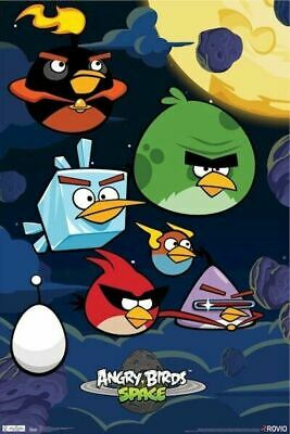 """Angry Birds 2 Movie Characters Textless Posters HQ Art Print 21×14 27×40/"""" 48×32/"""""""