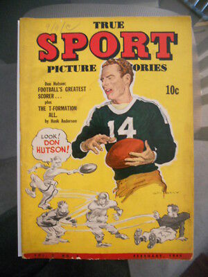 True Sport rare g-vg comic book #5 from 1944