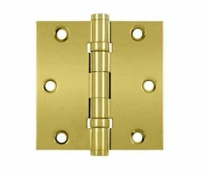 """Door Hinges 3-1/2"""" x 3-1/2""""  Square Corner  2  Ball Bearings 9 Finishes By  FPL"""