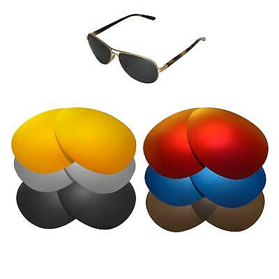 Walleva Replacement Lenses for Oakley Feedback Sunglasses-Multiple Options