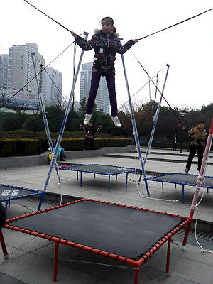 Brand New Children Bungee Bungy Trampoline Amusement Ride Free Posted by DHL