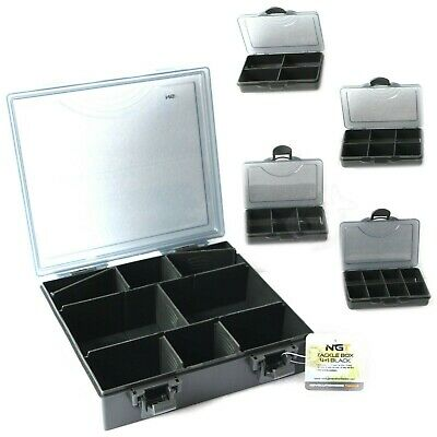 NGT Standard Carp Fishing Tackle Box + 6 Bit Boxes