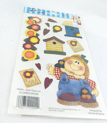 Rub-on Transfer Stickers - 204 Scarecrow