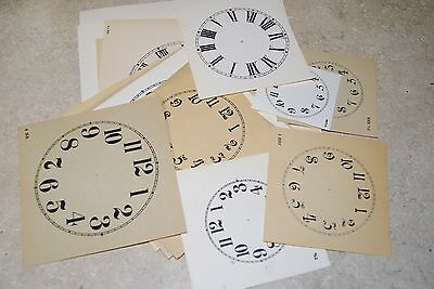 """24-Piece Paper Dial Assortment New Parts 1 3/4"""" To 6"""""""