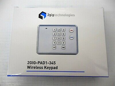 New 2GIG-PAD1-345 Wireless Keypad with Batteries