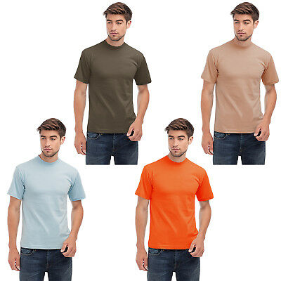Hanes Heavy-T Mens Short Sleeve Crew Neck Casual Cotton T Shirt Top