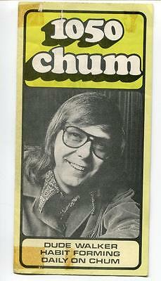 1050 Chum Radio Station Toronto Canada Program Top 30 Songs May 1974 Albums