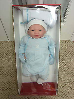 "Berenguer Newborn Carlos boy 20"" doll Limited Edition of 100  Retired Spain"