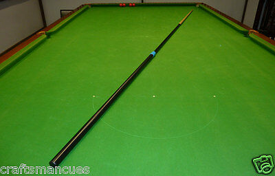 """Telescopic Reachmaster snooker cue 81"""" to 118"""" for full size snooker tables"""