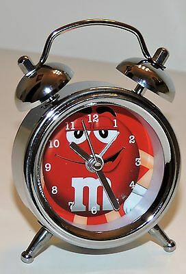 M&m's Red Character Limited Edition Collectible Mini Alarm Clock
