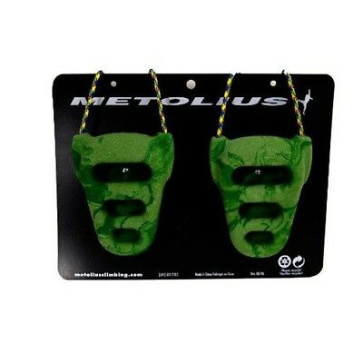 Metolius Climbing Rock Rings - Green