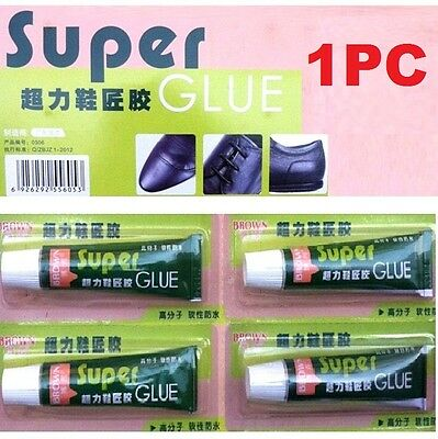 FD4622 Super Adhesive Glue Shoe Repair Tube Leather Rubber Strong Bond Fast 1PC