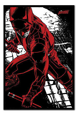 Framed Daredevil TV Series Fight Poster New