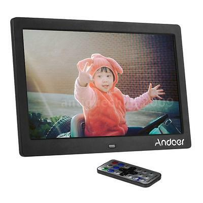 """10"""" HD Remote Control Digital Photo Picture Frame with Album Video Movie US Plug"""