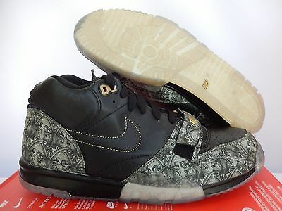 ... low priced eeef3 1c284 Nike Air Trainer 1 Mid Premium Qs Black-Green Sz  10.5 ... b9360afc68