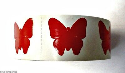 BUTTERFLY TANNING STICKER Or Scrapbooking Crafts 50 CT