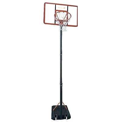 Bee-Ball Champion Full Size Basketball Stand Net and Hoop adjustable height