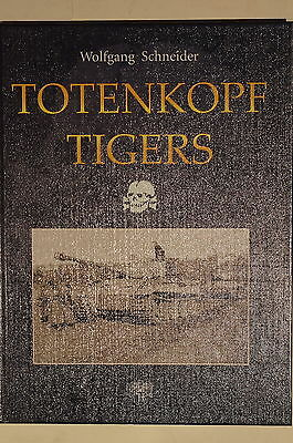 WW2 German 3 Panzer Division Totenkopf Tigers Armour Warfare Reference Book