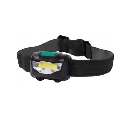 "LED Kopflampe ""HeadLight COB"" 320 Lumen 2 stufig dimmbar, Stirnlampe Headlamp"