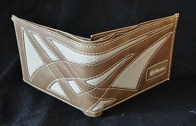 Men's Wallet~100% Genuine Top Grade Colombia Leather~Asics Style~Usa Seller
