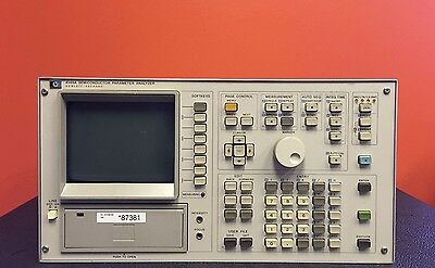 HP/Agilent 4145A, 1 mV to 100 V/1 pA to 100 mA, Semiconductor Parameter Analyzer