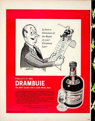1950 Ad Drambuie Scotch Whiskey Cordial Alcohol Liquor Beverage WA Taylor YFT5