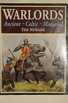 Warlords Ancient Celtic Medieval by Tim Newark Reference Book