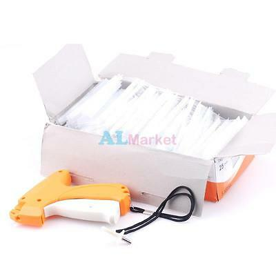 "Regular Clothing Garment Price Label Tagging Tag Gun W/ 5000pcs 1"" Tagging Barbs"