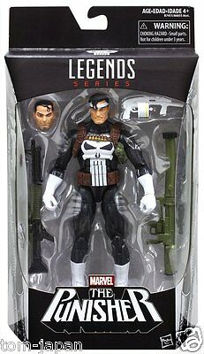 "Marvel Legends Series Spider Man Series 6"" Punisher Hasbro Action Figure RARE"
