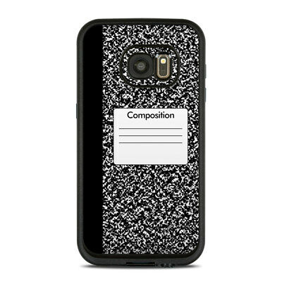 Skin for LifeProof FRE Galaxy S7 - Composition Notebook - Sticker Decal